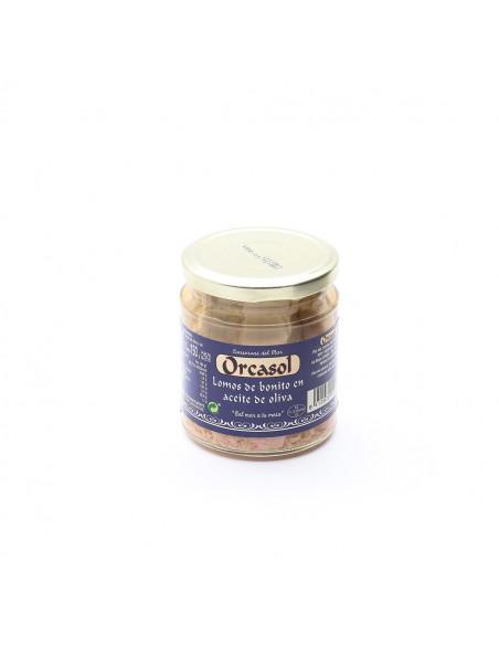 Lomos de bonito oliva